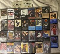 Lot Of 33 Cassette Tapes From The 70's And 80's