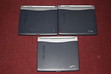 LOT of 3 Toshiba Satellite 1200-S121 Laptop/Notebook, Parts/Repair