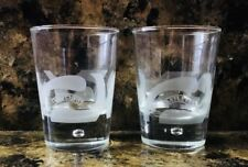 Baileys Irish Cream Bubble Base Etched Rocks Tumbler Glass Old Fashioned 4 1/8""
