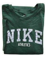 NIKE Mens Logo Athletics Short Sleeve T-Shirt Cotton Athletic Cut Tee NWT 2XL