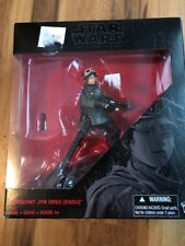 Star Wars Black Series Sergeant Jyn Erso  Action Figure Boy Toy Collectible NWT