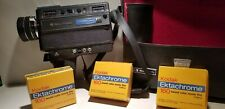 BELL & HOWELL 1235 Mag. SOUND CAMERA With 3 Rolls of New Film  Fair  Condition