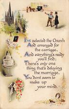 BB London~Groom~Wedding Arrangements Made~Cake~Parson~Can't Make Up Your Mind