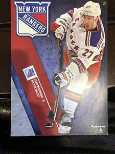 RYAN McDONAGH FATHEAD TRADEABLES NEW YORK RANGERS REMOVABLE DECAL NHL