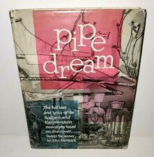 PIPE DREAM BROADWAY MUSICAL HARDBACK BOOK LIBRETTO 1956 RODGERS & HAMMERSTEIN