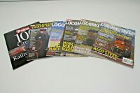 Lot of 6 Trains Magazine Special Issue Locomotive 100 Greatest Movies Photos