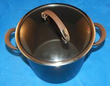 Circulon, 8Qt. Bronze Nonstick 2 Handled, Hard-Anodized Stockpot w/Original Lid