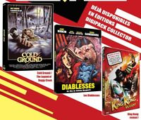 """PACK 3 DVD NF """"COLD GROUND / LES DIABLESSES / KING KONG REVIENT"""" 4 films horreur"""