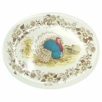 Northern Royal Nottingham Vintage Melmac 16x12 Turkey Platter Lg Oval Farmhouse