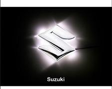 LED Car Tail Logo White light Auto Badge Emblem Lamp For Suzuki Swift Jimny Alto