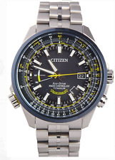 Citizen Eco-Drive Men's Blue Angels Radio Controlled TITANIUM CB0147-59L LIMITED