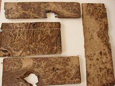 Brown Burr Oak Veneer  4 bundles  (998)