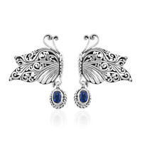 BALI LEGACY 925 Sterling Silver Kyanite Dangle Drop Earrings Jewelry Gift Ct 1.1