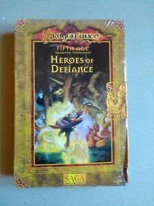 Heroes of Defiance Dragonlance Fifth Age SAGA TSR D&D Dungeons & Dragons NEW