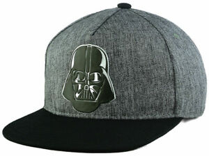 Star Wars 2Tone Marled Gray & Black Darth Vader Adjustable Snap back Cap