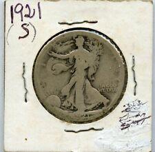 1921-S Walking Liberty 50c