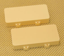 PCJZINH Cream Pickup Cover Set for Fender Jazzmaster® No Pole Piece Holes