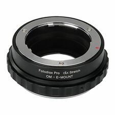 Fotodiox objetivamente adaptador DLX Stretch for Olympus om lens to Sony Alpha e-Mount