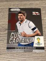 Panini Prizm World Cup Captains 2014 Steven Gerrard England Football Card