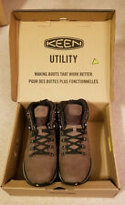 "Keen Mens Manchester 6"" Soft Toe Waterproof Utility Work Construction Boots 10.5"