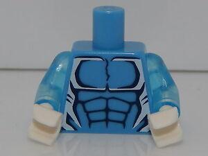 Lego Minifigure Torso Super Heros Ultimate Spider-Man Electro T86