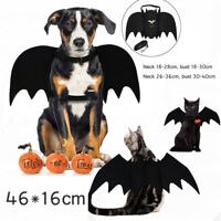 Pet Bats Halloween Costume For Small/Medium /Large Dog Puppy Black Bat Wings