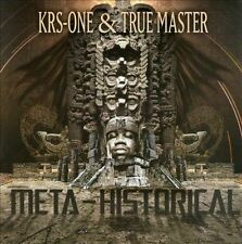 True Master KRS-One Meta-Historical CD 2010 Fat Beats Records