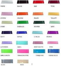 "120' x 54"" (40 Yards) Bolt Nylon Tulle 30 Colors Wedding Decoration Tutu Pew"