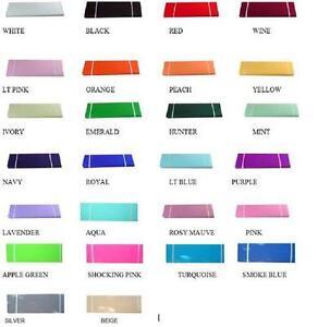 """120' x 54"""" (40 Yards) Bolt Nylon Tulle 30 Colors Wedding Decoration Tutu Pew"""