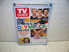 TV Guide Magazine February 3 2014 Super Bowl Moments Olympics Preview