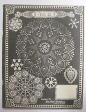 Vintage 1980 Elizabeth Hiddleson Crochet Pattern Book Vol. 42 Doilies Designs