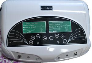Elektrolyse-Fußbad Fuß-Detox ionisches Cleansing ionisateur Entgiftung für 2