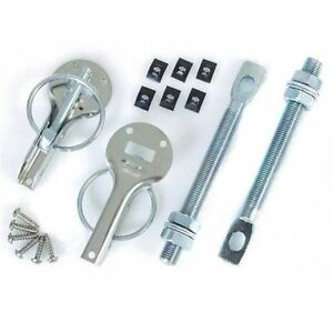 Grayston Competition Bonnet Pin Kit Stainless Steel Race & Rally