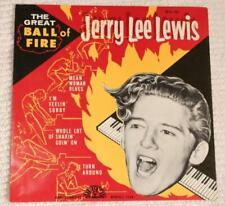 SUN EPA-107 JERRY LEE LEWIS The Great Ball Of Fire-FIRST EP-SLEEVE ONLY-No 45 M-