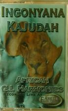 Ingonyana Kajudah African G.I. Harmonies Cassette 2000 Recorded Live Sealed