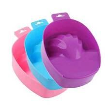 Nail Art Accessories Soak Bowl Tray Hand Wash Manicure x 1