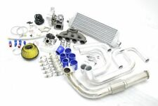 For  CIVIC DEL SOL D15 D16 D-SERIES T3/T4 BOLT-ON TURBO CHARGER KIT+MANIFOLD