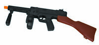 """19.5"""" Tommy Gun Toy Plastic Thompson Machine Gangster Costume Accessory Noise"""