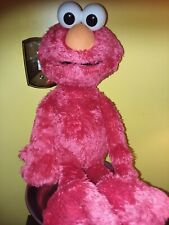 HASBRO, SESAME STREET, ELMO, RED, PLUSH TOY, GREAT CONDITION