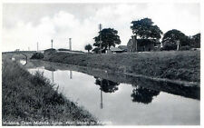 LINCOLNSHIRE POSTCARD OF THE HOBHOLE DRAIN MIDVILLE NEAR BOSTON