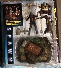 "Spawn The Movie ""The Graveyard Playset"" Action Figure McFarlane Toys 1997 Clown"