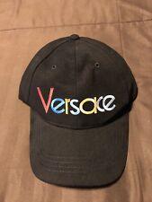Versace Rainbow Logo Baseball Cap
