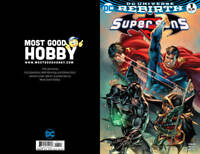 DC Rebirth Super Sons #1 MGH Exclusive EBAS Color Variant NM