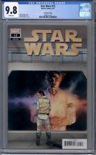 Star Wars #12  1:25 Yu Variant  Han Solo & Princess Leia  1st Print   CGC 9.8
