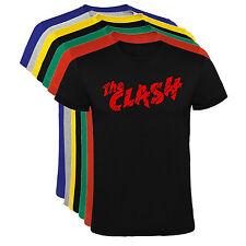 Camiseta The Clash grupos musica Hombre varias tallas y colores a091