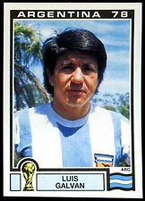 Argentina 78 Luis Galvan #96 World Cup Story Panini Sticker (C350)