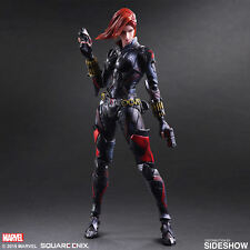"Sideshow Play Arts Square Enix Marvel Black Widow Variant 10"" Action Figure"
