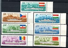 Hungary 1967 SG#2275-81 Danube Commission Ships MH Set Cat £24 #A53332