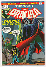 Bronze Age TOMB OF DRACULA #17 1974 NM - BLADE BITTEN BY DRACULA!