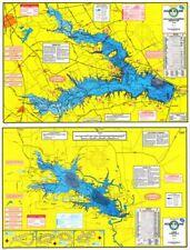 Hook-N-Line F114 Richland-Chambers Reservoir & Lake Fairfield Fishing Map